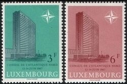 1967  Tagung des NATO-Rates in Luxemburg