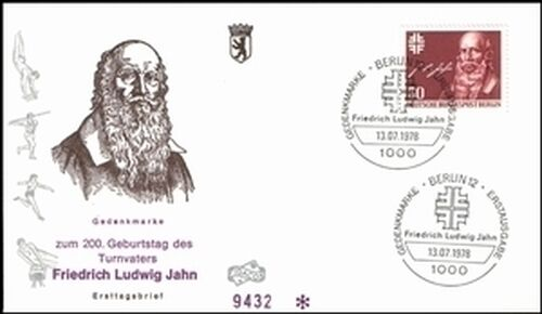 1978 Friedrich Ludwig Jahn