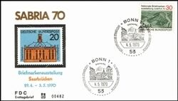 1970  Nationale Briefmarkenausstellung Sabria 70