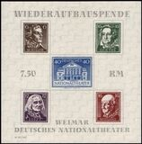 1946  Blockausgabe: Deutsches Nationaltheater