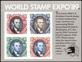 USA 1989  World Stamp Expo´89
