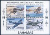 Bahamas 1998  80 Jahre Royal Air Force