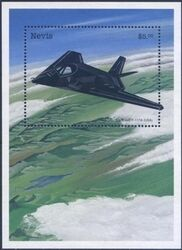 Nevis 1998  Concorde - Stealth Bomber B-2