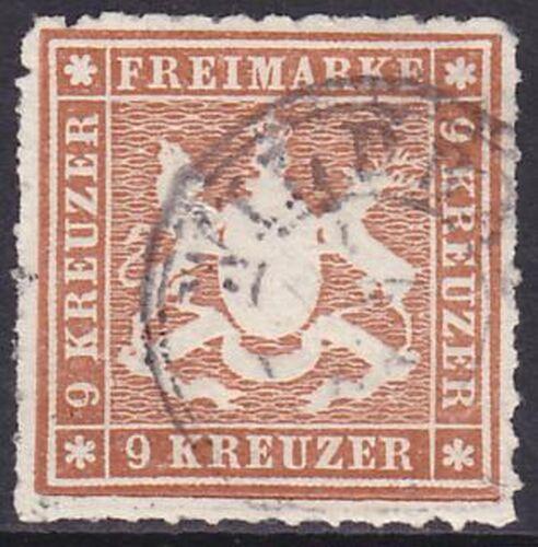 1865 Freimarke: Wappen