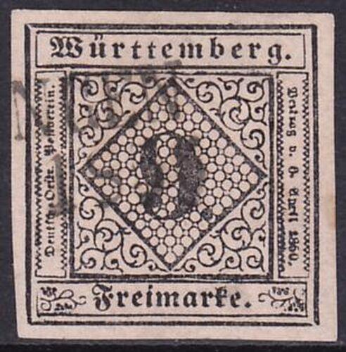 1851 Freimarke: Ziffer