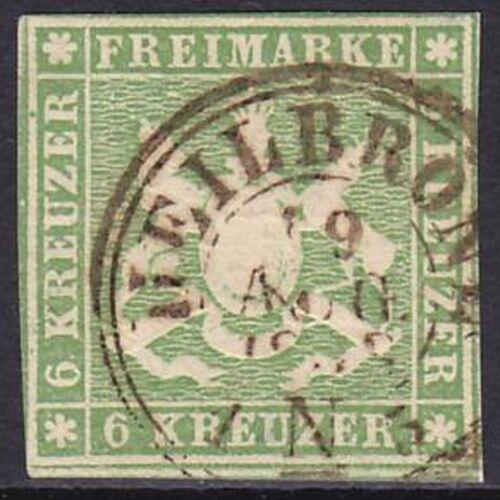 1857 Freimarke: Wappen