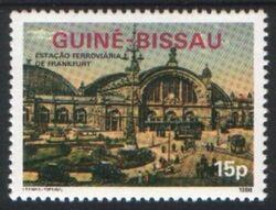 guinea bissau 1986 hauptbahnhof frankfurt briefmarken versand. Black Bedroom Furniture Sets. Home Design Ideas