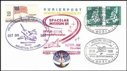 1985  Kurierpost - Spacelab-Mission D1