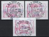 1990  Automatenmarken: Briefmarkenausstellung KE.THE.FIL