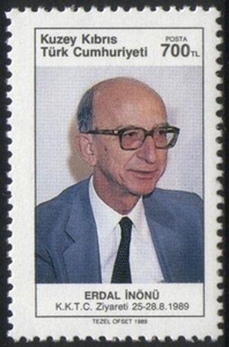 1989 Besuch von Erdal Inönü in Türkisch-Zypern