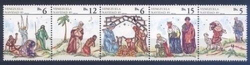 venezuela 1989 weihnachten briefmarken versand. Black Bedroom Furniture Sets. Home Design Ideas