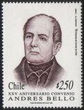 Chile 1995 <b>Andres-Bello</b>-Abkommen - Chile-1995-Andres-Bello-Abkommen