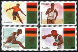 Sambia 1988  Olympische Sommerspiele in Seoul