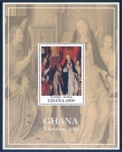 ghana 1991 weihnachten religi se malerei briefmarken. Black Bedroom Furniture Sets. Home Design Ideas