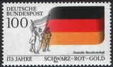 1990  Nationalfarben Schwarz-Rot-Gold