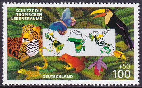 1996 umweltschutz sch tzt die tropischen lebensr ume. Black Bedroom Furniture Sets. Home Design Ideas