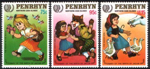 Penrhyn 1985 Internationales Jahr der Jugend - Gebrüder Grimm