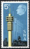Namibia 1971  Internationale Briefmarkenausstellung INTERTEX