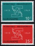 Surinam 1969  Internationale Arbeitsorganisation IAO
