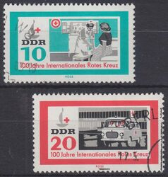 1963  100 Jahre Internationales Rotes Kreuz