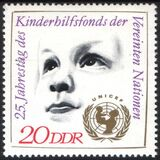 1971  25 Jahre Kinderfonds der Vereinten Nationen (UNICEF)
