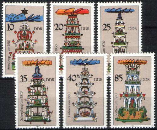 1987 weihnachtspyramiden aus dem erzgebirge briefmarken versand. Black Bedroom Furniture Sets. Home Design Ideas
