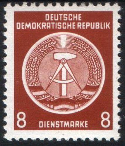 Dienstmarken Ddr Briefmarken Versand Weltde