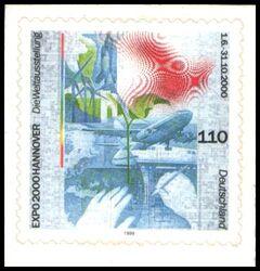 2000 Weltausstellung Expo 2000 In Hannover Briefmarken Versand