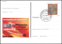 1999  Intern. Briefmarkenmesse PHILATELIA
