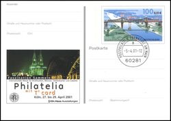 2001  Intern. Briefmarken-Messe PHILATELIA