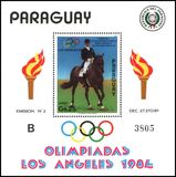 Paraguay 1984  Olympische Sommerspiele in Los Angeles