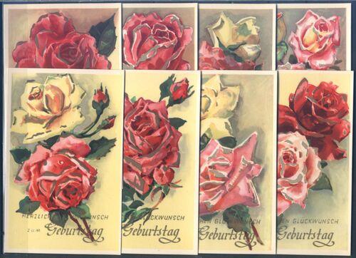 gl ckwunschkarten zum geburtstag rosen briefmarken. Black Bedroom Furniture Sets. Home Design Ideas
