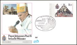 1987  Papst Johannes Paul II. in Münster