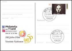 1995  Intern. Briefmarken-Messe PHILATELIA `95