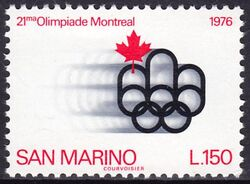 1976  Olympische Sommerspiele in Montreal