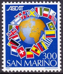 1982  Internationale Versammlung der Briefmarkenkatalogherausgeber