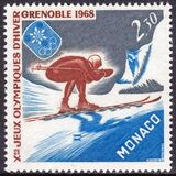 1967  Olympische Winterspiele 1968 in Grenoble