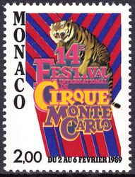 1988  14. Internationales Zirkusfestival von Monte Carlo