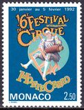1992  16. Internationales Zirkusfestival von Monte Carlo