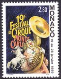 1995  19. Internationales Zirkusfestival von Monte Carlo