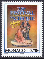 2003  28. Internationales Zirkusfestival von Monte Carlo