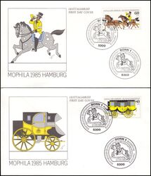 1985  Intern. Briefmarkenausstellung MOPHILA `85