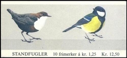 1980 Freimarken Vögel - Markenheftchen
