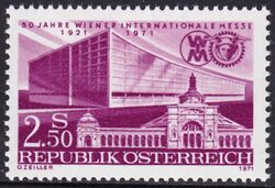 1971  50 Jahre Internationale Wiener Messe
