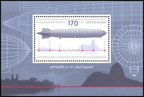 Brief Nach Hamburg Briefmarke : Tag der briefmarke historischer luftschiffverkehr