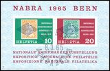 1965  Nationale Briefmarkenausstellung NABRA in Bern