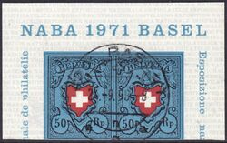 1971  Nationale Briefmarkenausstellung NABA 1971