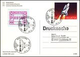 1981  Space Shuttle - Bildpostkarte