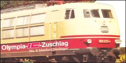 1988  Olympia-IC-Zuschlag - Manfred Nerlinger