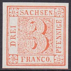 1850  roter Sachsen 3er    ND
